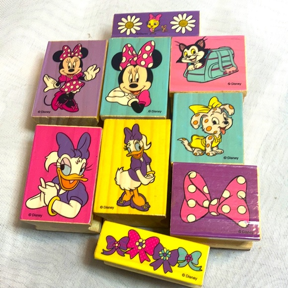 Disney rubber stamps
